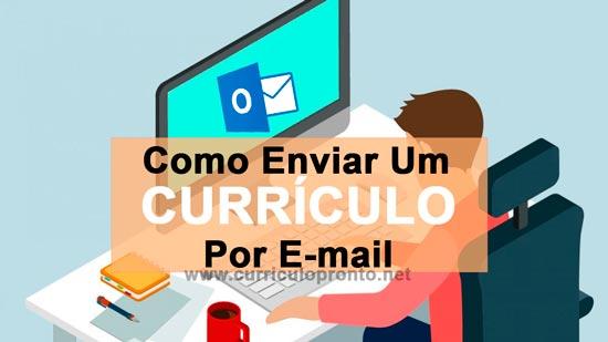 Banner Como Enviar Currículo Por Email