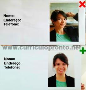 Modelo de Currículo com Foto